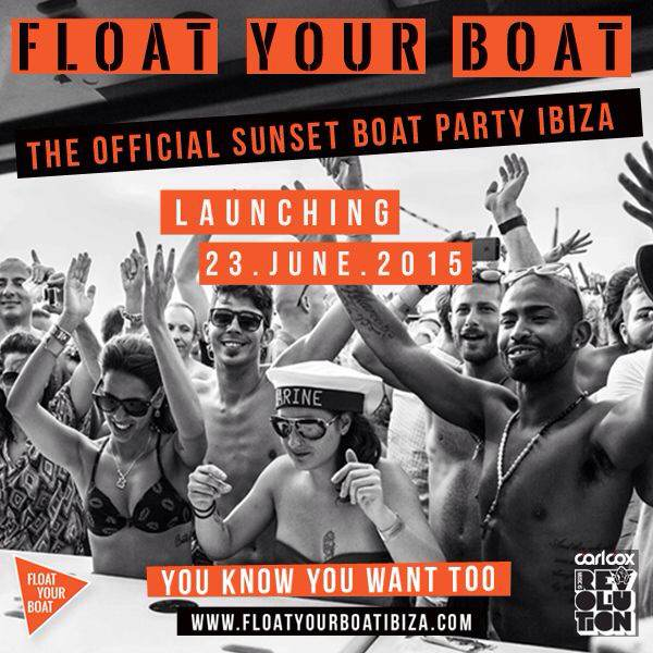 And we're back! Float Your Boat Ibiza in 2015!