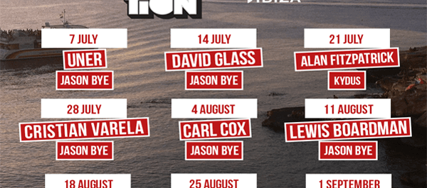 Float Your Boat- Carl Cox @ Space FULL SUMMER DJ LINE UP ANNOUNCED