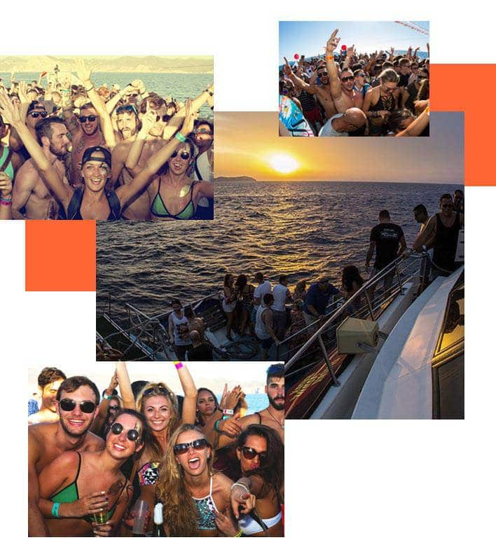 Cala Conta Boat Party