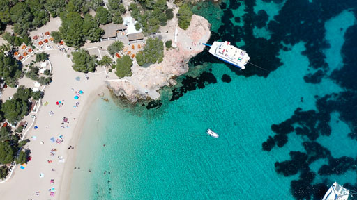 ibiza beach cruise