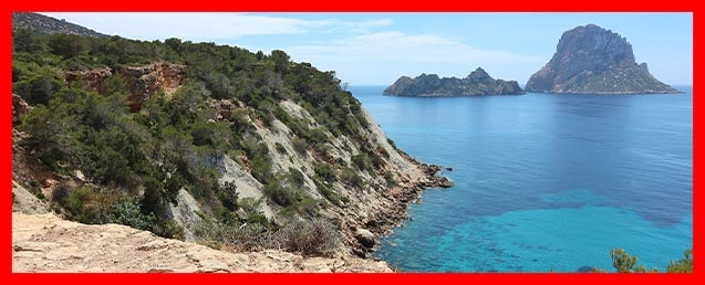 icons of the island of Ibiza,