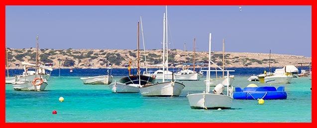 Getting around Formentera